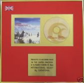 CATATONIA  - CD Album Award - INTERNATIONAL VELVET